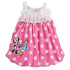 DISNEY STORE MINNIE MOUSE & DAISY DUCK KNIT BUBBLE ROMPER FOR BABY SUPER CUTE