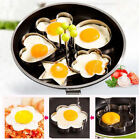Heart Rround Fried Egg for breakfast Kitchen Tool supplies Stainless DIY Gadgets