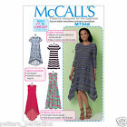 McCall's 7348 Sewing Pattern to MAKE Straight Handkerchief or High-Low Hem Dress