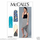 McCall's 7393 Sewing Pattern to MAKE Knit Skirts with Design Details