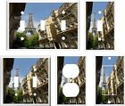 EIFFEL TOWER PARIS STREET VIEW LIGHT SWITCH COVER  PLATE     YOU PICK  SIZE