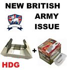 BRITISH ARMY BCB FIRE DRAGON FOLDING STOVE COOKER MULTIFUEL GEL FUEL HEXI
