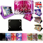 Universal Leather Printed Folio Flip Case Cover for New 7 8 9 10 inch Tablets PC