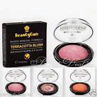 Terracotta Blush Baked Mineral Formula Marble Glow Glitter Pink Bronze Red