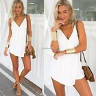 Women's Summer Casual Sexy Chiffon Party Evening Cocktail Short Mini Dress N4U8