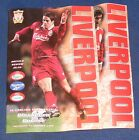 LIVERPOOL HOME PROGRAMMES 1997-1998