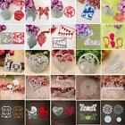 Girl Letter Heart Metal Cutting Stencils Die Scrapbooking Craft Album Card Decor