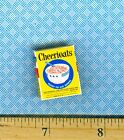 Dollhouse Miniatures  Size Vintage Happy Chearful Cereal Box