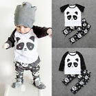 2pcs Toddler Kids Baby Boy T-Shirt/Tops+Long Pants Trousers Outfits Clothing Set