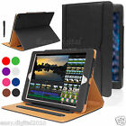 Luxury Magnetic Leather Wallet Smart Flip Case Cover For Apple iPad Pro 12.9""