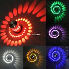 Spiral 3W LED Wall Lamp Sconces Porch Hall Light Lobby Stairs Decor Fixture Bulb
