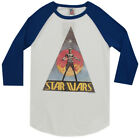 Star Wars Junk Food Adult +-Sleeve Raglan T-Shirt Tee $35.95 USD