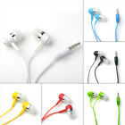 Durable 3.5mm In-ear Headphone Stereo Earbud Earphone Headset With Microphone