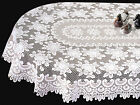 Romantic Classic Rose Oval Tablecloth by Heritage Lace, 2...