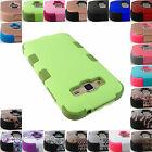 FOR SAMSUNG GALAXY PHONE MODELS TUFF ARMOR SHOCK DUAL LAYER CASE COVER+STYLUS