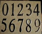 """SPECIAL LITE  SELF STICK 3"""" Stainless MAILBOX ADDRESS NUMBERS Self-Adhesive"""