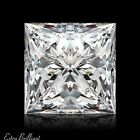 0.74ct F/VS1/Ideal-Pol Princess Cut GIA Certify Genuine Diamond 5.09x4.84x3.58mm