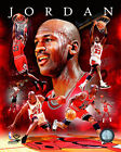 Michael Jordan Chicago Bulls NBA Licensed Fine Art Prints (Select Photo & Size)