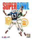 Baltimore Colts New York Jets Super Bowl III Program Cover Photo (Select Size)