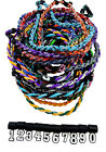 PICK YOUR NUMBER - Twisted Titanium Tornado Necklace Baseball Softball 39 Colors
