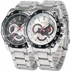 Casual Stainless Steel Luxury Hours Analog Analog Quartz Men's Wrist Sport Watch