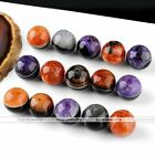 5x 20/22/24/30mm Natural Round Drusy Agate Loose Ball Bead Gemstone Clearance
