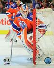 Cam Talbot Edmonton Oilers 2015-2016 NHL Hockey Action Photo SW013 (Select Size)