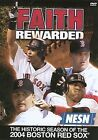 Faith Rewarded: The Historic Season of the 2004 Red Sox (DVD, 2004) FREE SHIPPIN