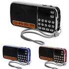 Mini Digital LCD Receiver FM AM Radio Speaker USB Micro SD TF Card Mp3 Player