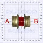 Gas Mask Respirator RED Straight Coupler PLUS Choose Your fittings