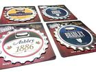 Personalised Name 3 in 1 Bottle Opener/Coaster/Fridge Magnet A - I
