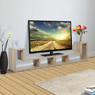 Home TV Stand Console Center Wood Storage Cabinet Media Entertainment Furniture