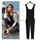 Women Bib Pants Jumpsuit Rompers Dungarees Suspenders Overall Rompers New N4U8