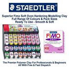 Fimo Soft Classic Polymer Modelling Clay Moulding Oven Bake 56G All Colours
