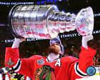 Duncan Keith Chicago Blackhawks 2015 Stanley Cup Trophy Photo SB138