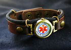 Diabetes Bracelet, Insulin Dependent Bracelet, Type 1 Diabetic Medical ID  cuff