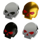 Cool Motorcycle Skull Fuel Gas Tank Cover Cap Fr Harley Softail Sportster XL1200