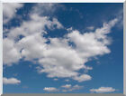 Clouds Cloudy Day Photo to Canvas Painting Reproduction Stretched Fine Art Print
