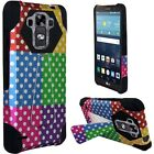T -Stand Kickstand Hybrid Case Phone Cover for LG G Vista 2 II H740