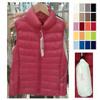 UNIQLO Women ULTRA LIGHT DOWN VEST Choose Color White Gray Black Navy NEW 173349