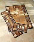 COFFEE THEMED NONSKID AREA ACCENT RUNNER RUG KITCHEN DINING HOME DECOR