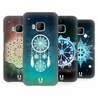 HEAD CASE DESIGNS SNOWFLAKES HARD BACK CASE FOR HTC PHONES 1