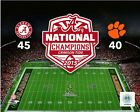 Alabama Crimson Tide 2015 Football National Champions Photo SP216 (Select Size)