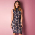 Womens Glamorous Lace Dress In Navy From Get The Label