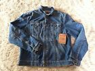 TRUE RELIGION DANNY TRUCKER JACKET Denim Men's Size XL XXL NEW
