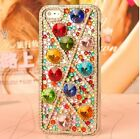 NEW COLOR crystal round Finished hard Case cover SKIN for Apple iPhone 4 4S OF15