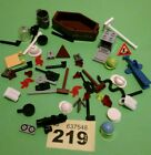 LEGO TOWN CASTLE LOT OF 50 ASSORTED MINIFIG ACCESSORIES,AS PICTURED  #219