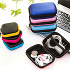 Headphone Earphone Charger Data Cable Organizer Earbud Pouch Storage Carry Case