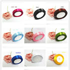 2.5CM*25 yards multi-color satin ribbon wedding craft sewing decorations s1