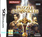 Puzzle Chronicles Nintendo DS 12+ Game